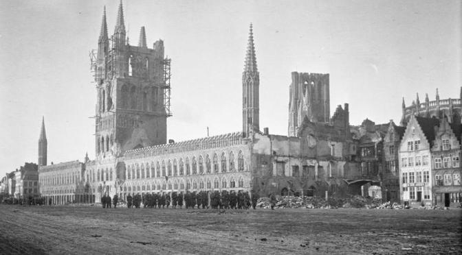 La Primera Batalla de Ypres (I).