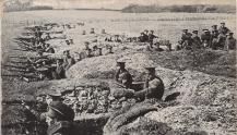 Posiciones británicas en el Aisne