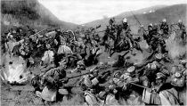 An engagement in Hungary between an Austro-Hungarian force and a body of Russian cavalry who had crossed the Carpathians from Galicia.