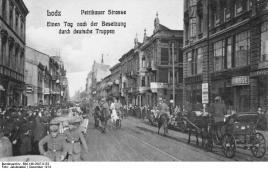 Polen, Lodz nach deutscher Besetzung