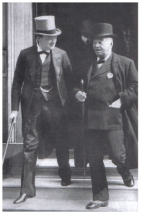 Churchill y Lord Fisher