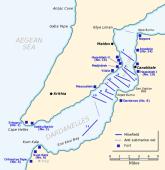 Las defensas de los Dardanelos