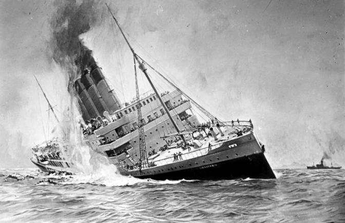 El Fin de un Gigante: El Hundimiento del Lusitania.