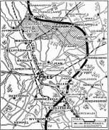 NYTMap2ndBattleOfYpres1915 30 abril