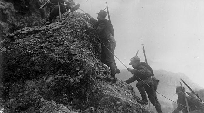 Italia Entra en Guerra: Lucha por el Isonzo.