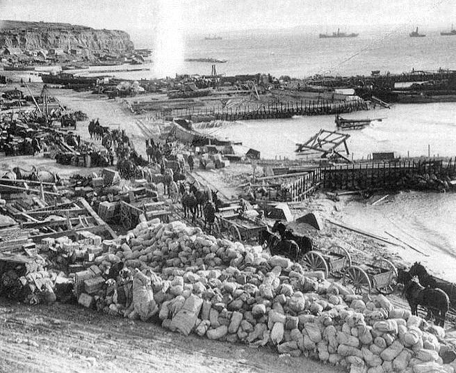 Galípoli VI: Evacuación