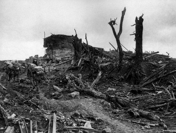 El Somme III: Bautismo Australiano. Fromelles y Pozières.