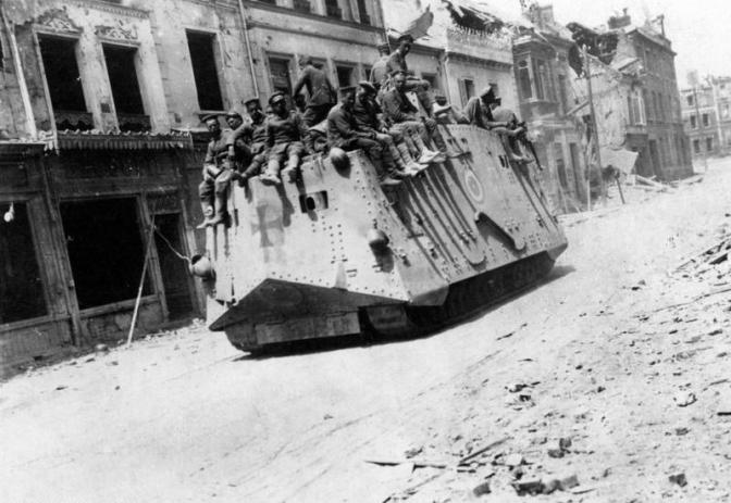 Ofensiva de Primavera I: Kaiserschlacht