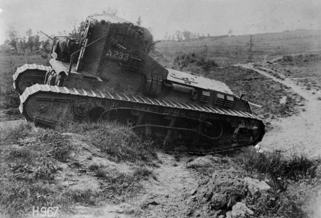 La Ofensiva de los 100 Días II: Del Somme a la Línea Hindenburg